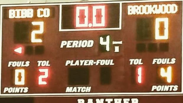 high school basketball 2-0 score