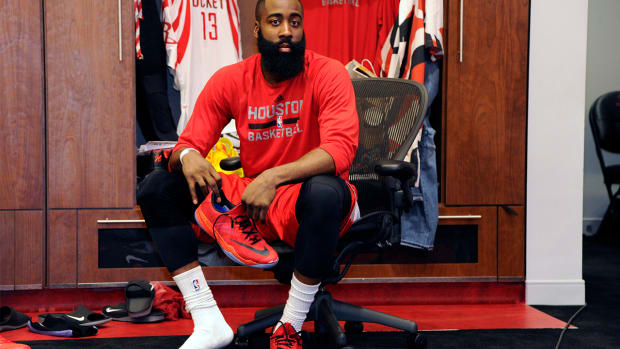 Report: Adidas offers James Harden $200 million to leave Nike--IMAGE