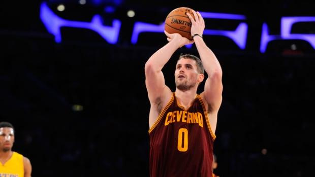 kevin love cavaliers back injury update status