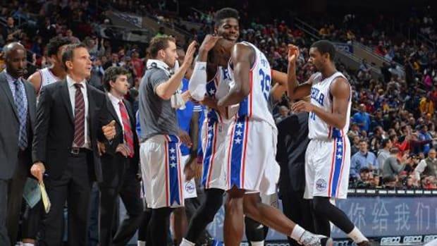 Philadelphia 76ers avoid worst start in NBA history - IMAGE