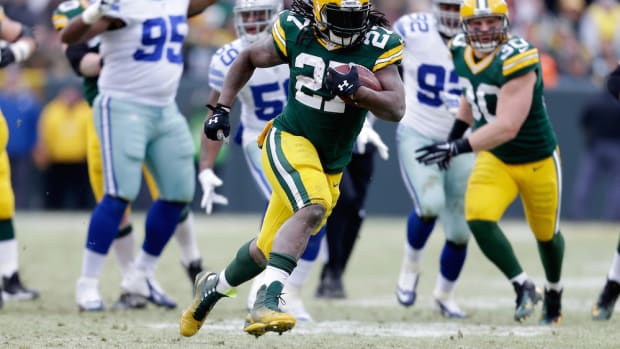 eddie lacy green bay packers asthma attack