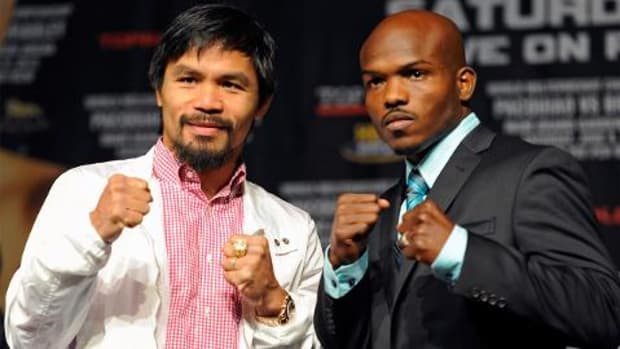 Manny Pacquiao, Timothy Bradley to   fight for third time on April 9th IMAGE