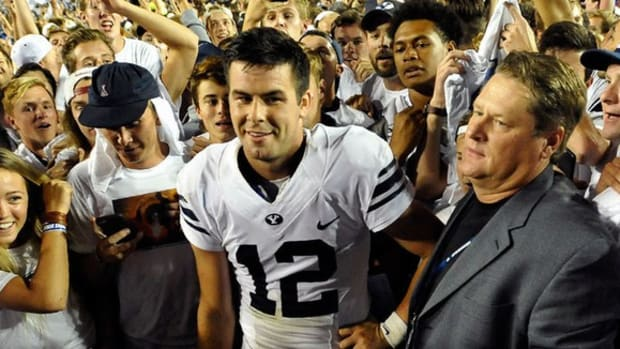 Man of the moment: BYU QB Tanner Mangum on Hail Marys, his mission trip and more