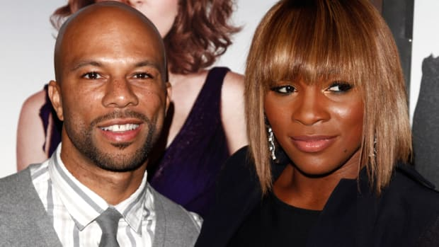 Rapper Common on if it was intimidating to date Serena Williams-image