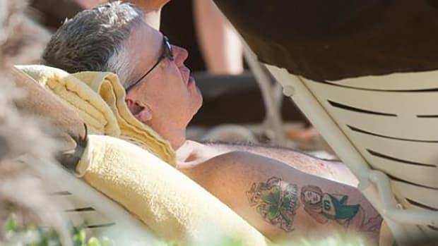 Rex Ryan changes tattoo from Jets to Bills