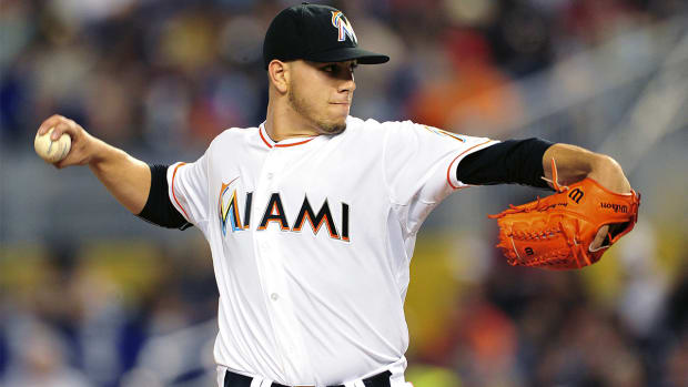 Marlins pitcher Jose Fernandez to make season debut July 2 IMAGE