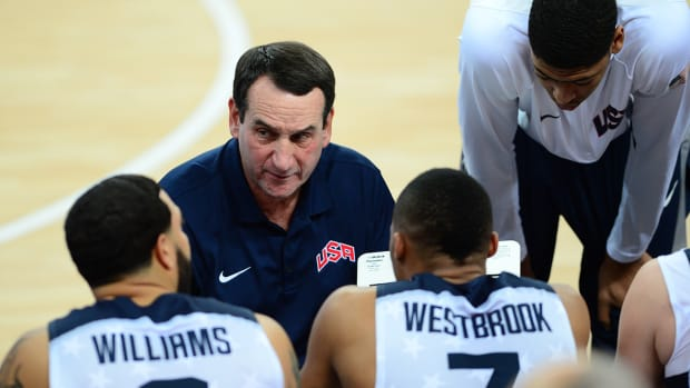 Coach K stepping down as USA Basketball coach after 2016 Olympics - IMAGE