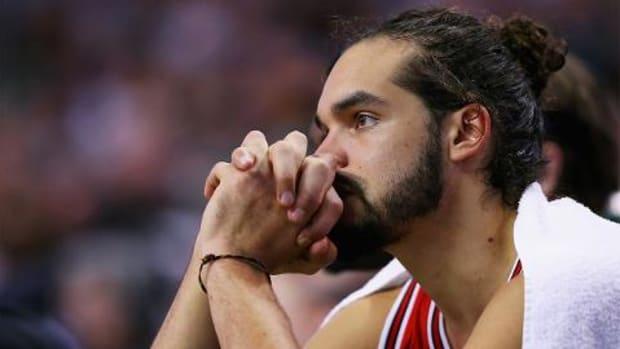 Report: Bulls trying to trade Noah, Gasol, Gibson -- IMAGE