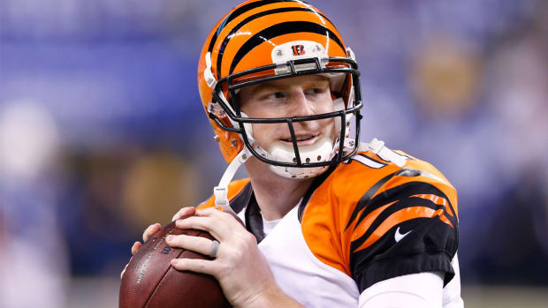 Nick Lachey advises Andy Dalton on how to handle big-game pressure - Image