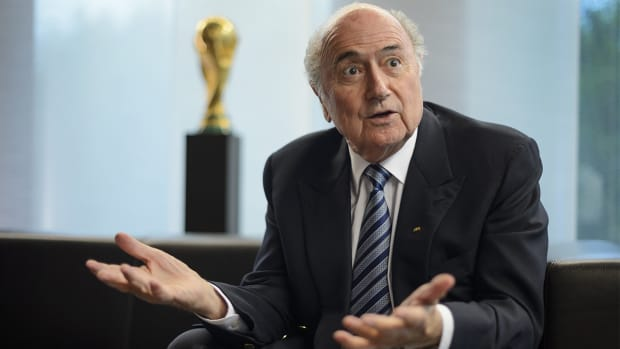 FIFA's Sepp Blatter admitted to hospital -- IMAGE