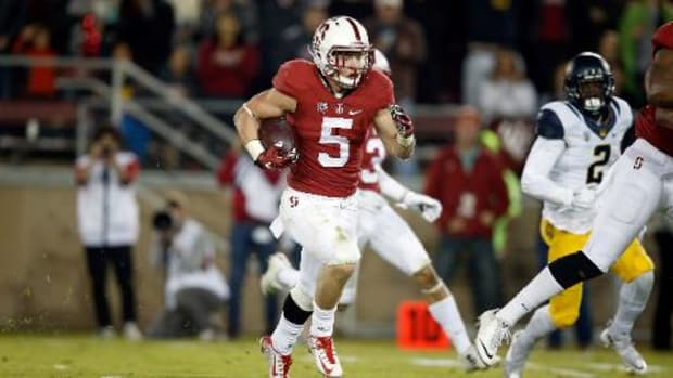 Stanford's Christian McCaffrey named AP player of the year -- IMAGE