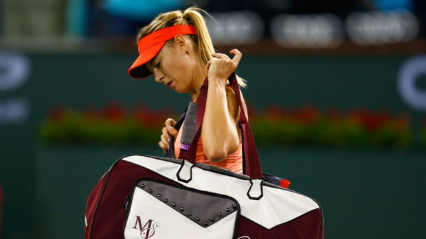 Maria Sharapova upset at Indian Wells
