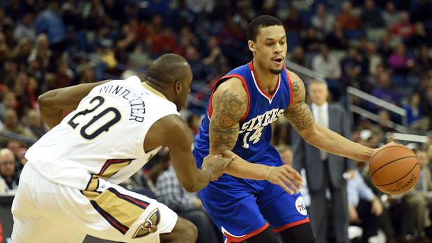 Report: 76ers trade forward K.J. McDaniels to Houston Rockets
