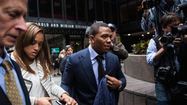 ray rice suspension interview