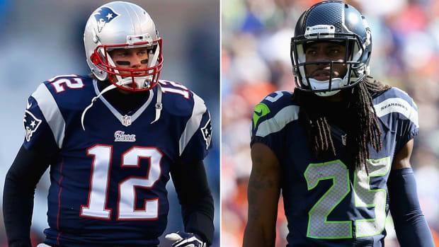 Tom Brady vs. Richard Sherman: Who is the better leader? - Image