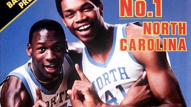 Michael Jordan and Sam Perkins