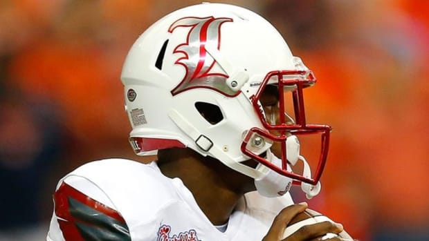 Introducing Lamar Jackson: Louisville's surprise starting quarterback