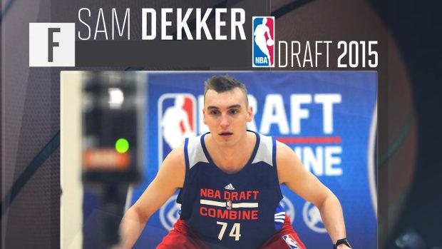 2015 NBA draft: Sam Dekker profile IMG