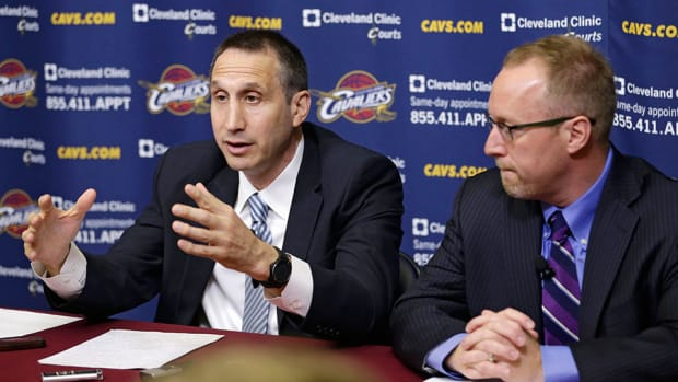 cavaliers david blatt david griffin lebron james