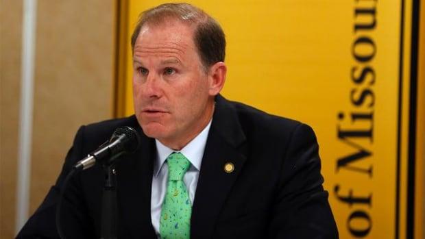 University of Missouri president Tim Wolfe resigns - IMAGE