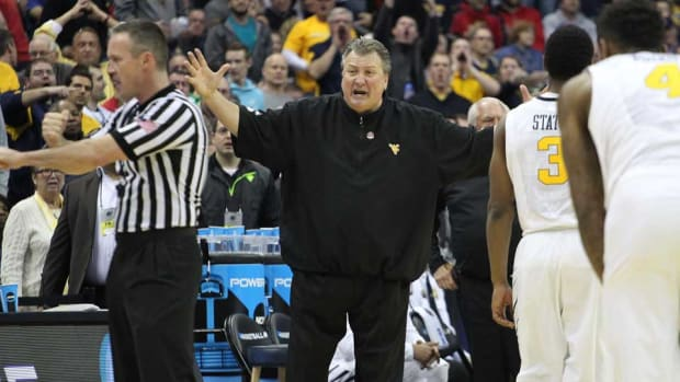 Bob Huggins West Virginia rips ncaa tournament march madness