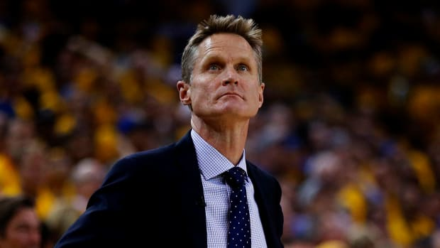 Warriors coach Steve Kerr: Spinal fluid leak reason for leave of absence - IMAGE