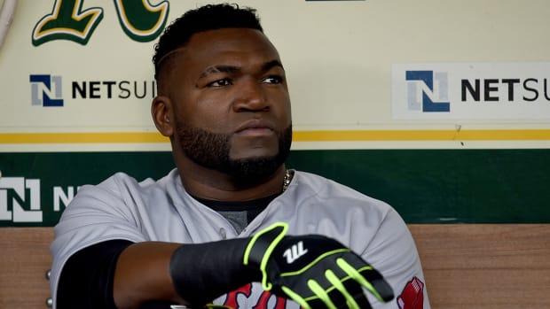 David Ortiz upset over being left off Red Sox lineup