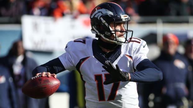 Broncos QB Brock Osweiler to start versus Patriots - IMAGE