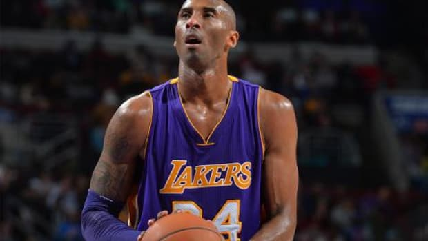 Kobe Bryant says he's 'completely fine' with five championships -- IMAGE