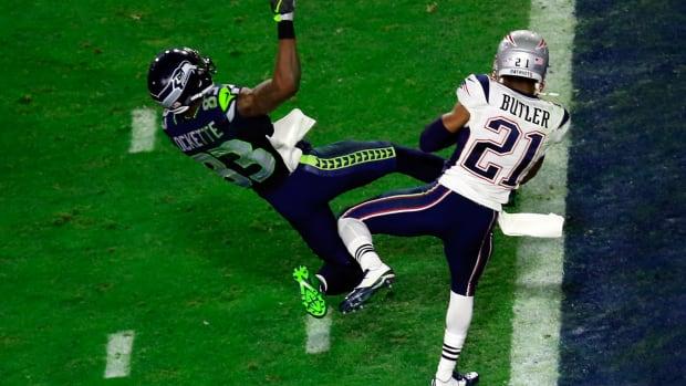 Malcolm Butler New England Patriots 2015 Super Bowl