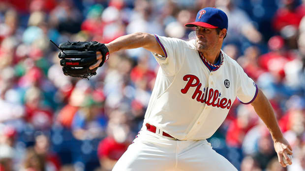 phillies cole hamels opening day starter