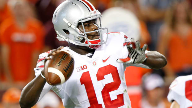 Urban Meyer says Cardale Jones will remain Ohio State's starting quarterback--image
