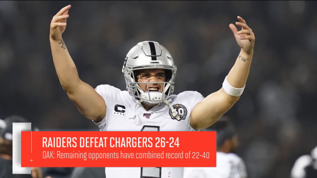 Jon Gruden and the Raiders Have Transformed from Laughingstock to Playoff Contenders