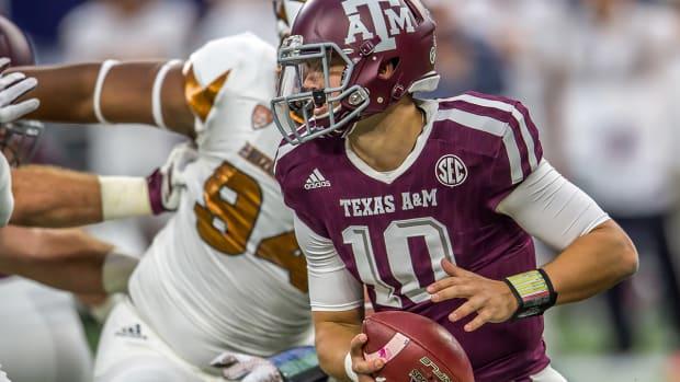 Texas A&M upsets No.15 Arizona State--image