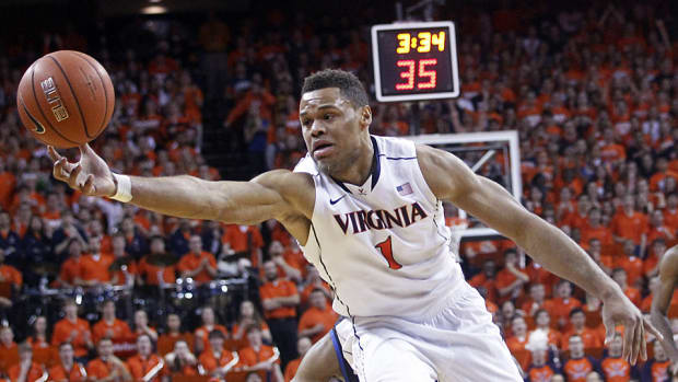 Justin Anderson Virginia rebound top