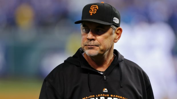 bruce bochy admitted to hospital