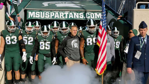 With steady hand and core values, Mark Dantonio has brought stability, consistency to Michigan State