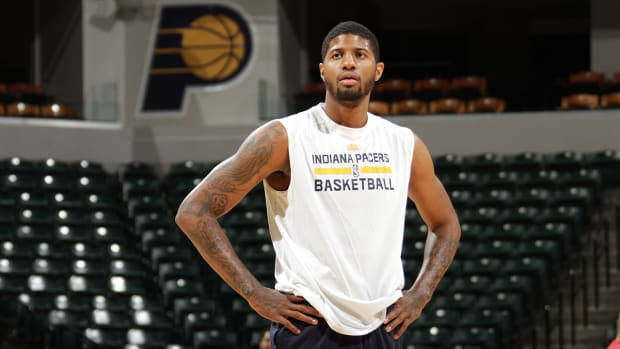 Indiana Pacers Paul George hopes to return in a month
