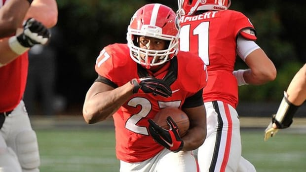 The pride of Cedartown: Georgia's Nick Chubb is looking to put his hometown on the map