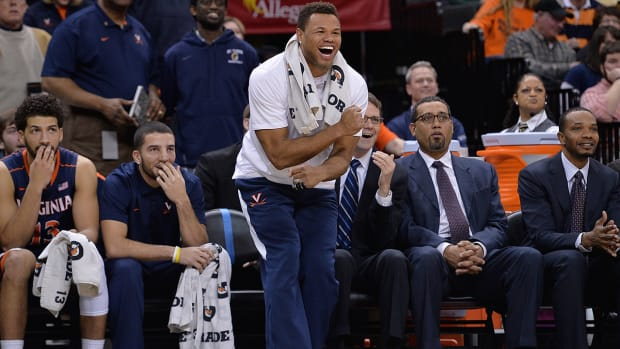 Virginia G Justin Anderson (finger) could return for Louisville game IMAGE
