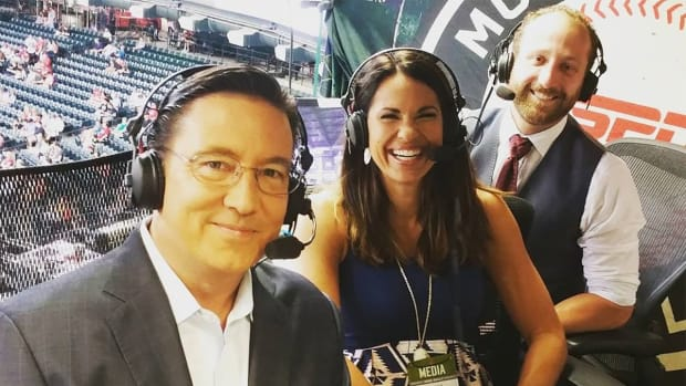 Jessica Mendoza to remain on ESPN's Sunday Night Baseball--IMAGE