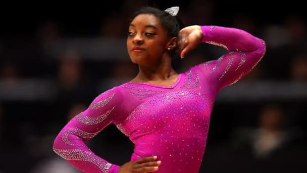 Sportsman of the Year contender: Simone Biles IMAGE