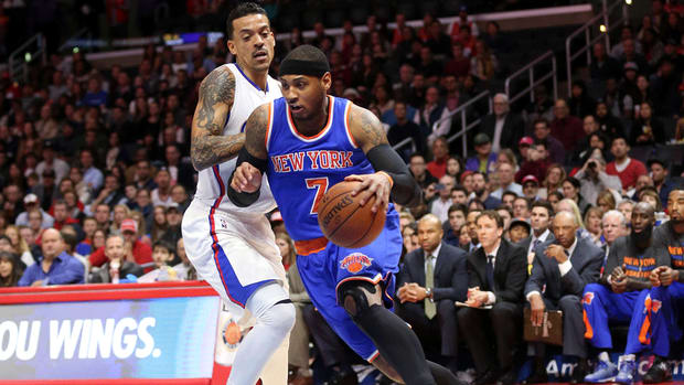 Knicks coach Derek Fisher: Carmelo Anthony could end season early
