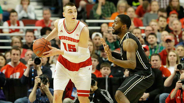 Wisconsin vs. Purdue Sam Dekker