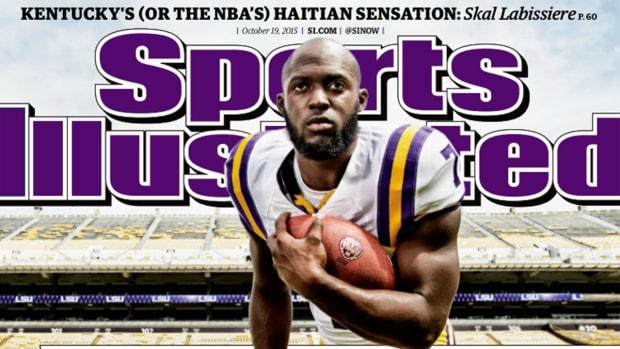 LSU RB Leonard Fournette lands Sports Illustrated cover - IMAGE
