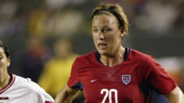 Abby Wambach plays last career match for USWNT--IMAGE