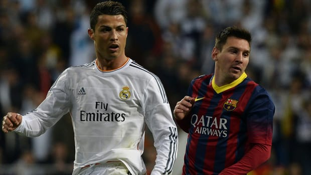 Cristiano Ronaldo says he's better than Lionel Messi -- IMAGE
