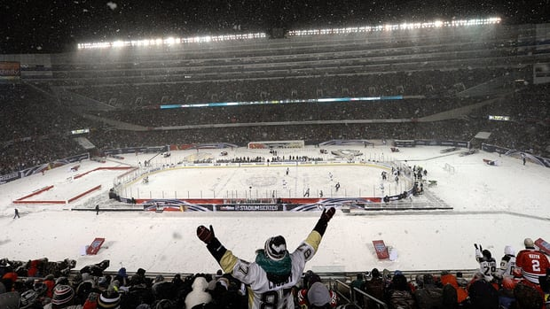 NHL releases architectural rending of 2015 Stadium Series