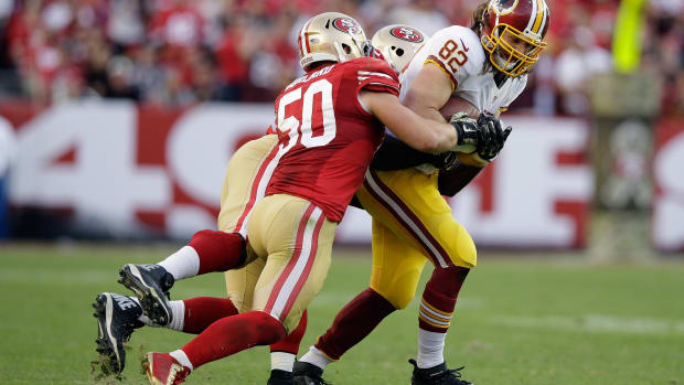 San Francisco 49ers Chris Borland retire twitter reaction