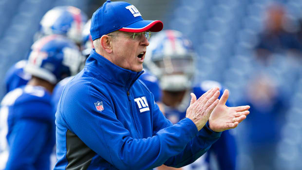 Rashad Jennings: I couldn't see anyone other than Tom Coughlin coach the Giants - Image
